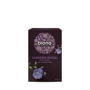 Biona Cracked Linseed Gold Organic - 500g